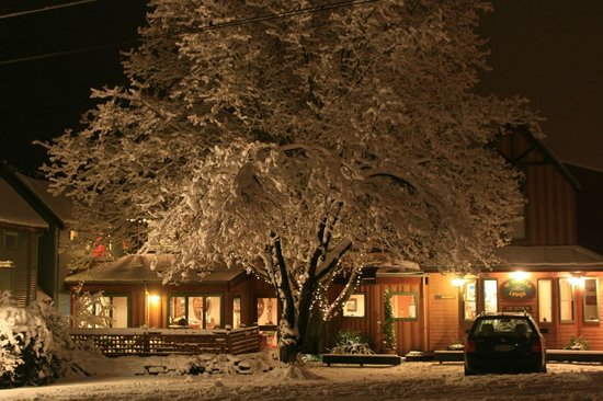 Winter at Te Wanaka Lodge