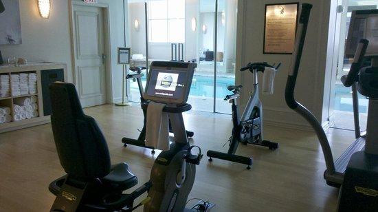Fantastic Fitness Center Spa Picture Of The Ritz Carlton Pentagon City Arlington Tripadvisor