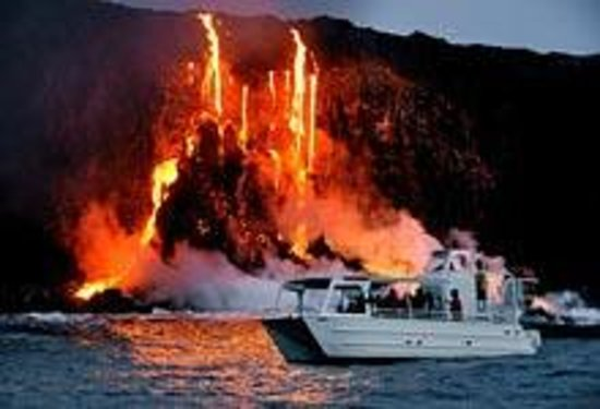 Boat Tours To See Lava Flow On Big Island