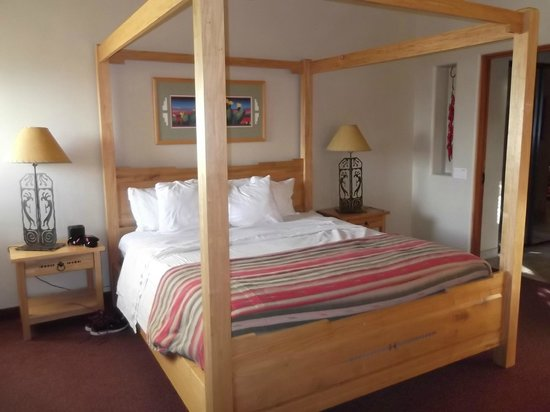 Inn at Eagle Mountain : Comfortable Bed