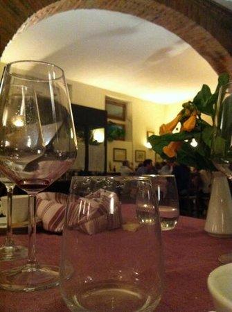New Cenacolo: interno dal nostro tavolo