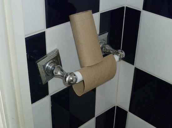 Ruxley Rooms: The empty toilet rolls