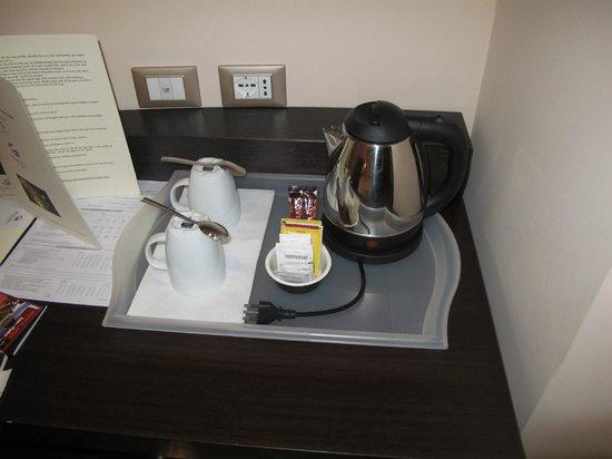 Infinity Hotel St. Peter: Tea & Coffee