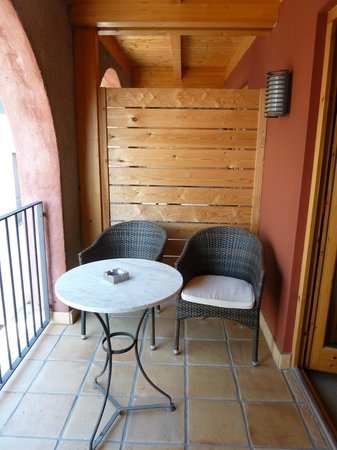 Niu de Sol - Hotel Rural: Pear room balcony