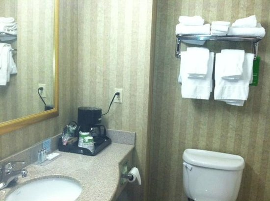 Hampton Inn & Suites Petoskey : Clean bathrooms