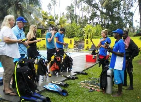 Santo Island Dive and Fishing: Open Water Course
