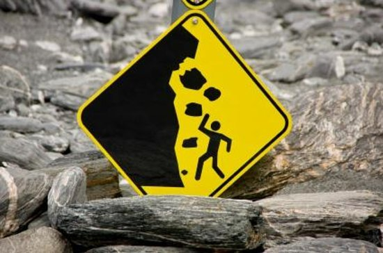 San Luis Waterfall: Caution