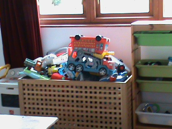 The Elmfield: Toys in playroom