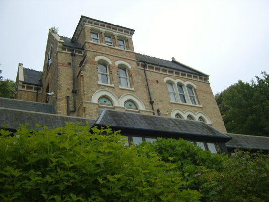 The Elmfield: View of hotel from garden