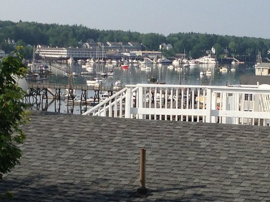 Harborage Inn on the Oceanfront: View from our deck.