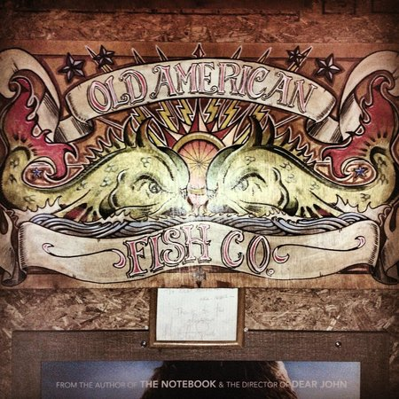 American Fish Company: Old American artwork