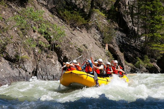 Toby Creek Family White Water Rafting in Fairmont Hot Springs BC