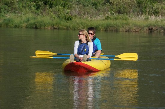 Glacier Raft Adventures Day Tours: Kayak Tours & Rentals in Fairmont Hot Springs BC