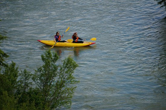 Glacier Raft Adventures Day Tours: Kayak Tours & Rentals in Fairmont Hot Springs BC