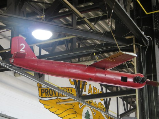 Canadian Bushplane Heritage Centre: OQ-2 Radioplane target aircraft used in the Second World War