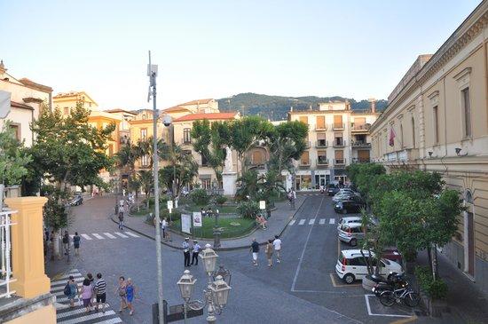 La Piazzetta: view from my room