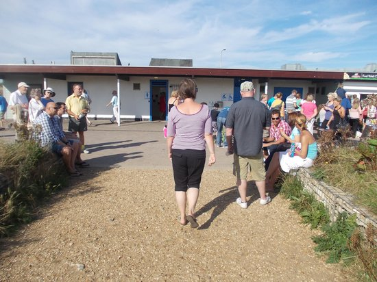 Hengistbury Head : Cafe