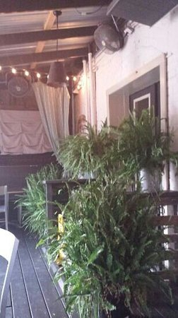 The French Market and Tavern: back patio