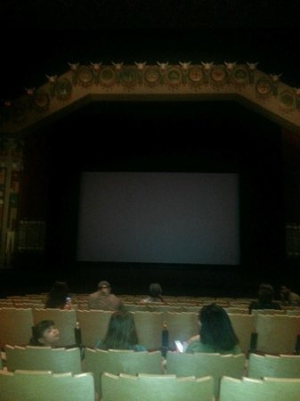 KiMo Theatre : About to watch the Bee Movie