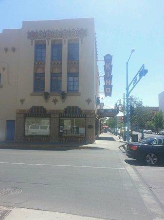 KiMo Theatre : Outside of the Kimo