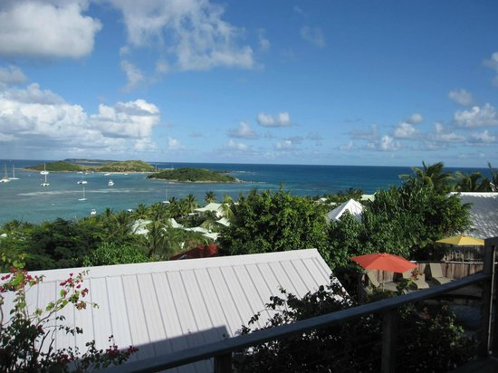 Karibuni Lodge: View from balcony