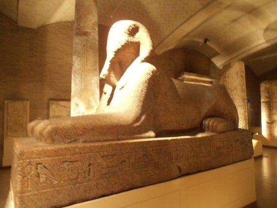 Penn Museum: Sphinx side