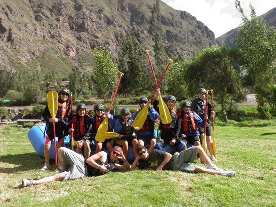 Andean Pathways: Rafting the Urubamba river