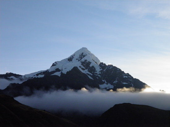 Andean Pathways: The view of Mt. Veronica