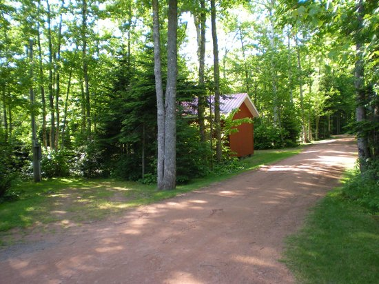 New Glasgow Highlands Campgrounds: Wooded site 2