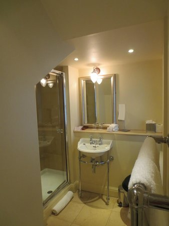 The Royal Park Hotel: Bathroom with walk-in shower