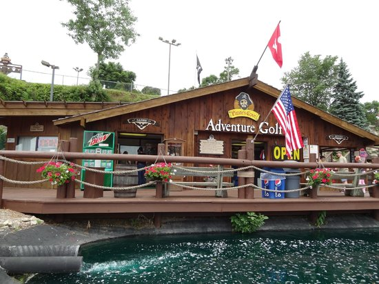 Wisconsin Dells Golf Wisconsin Dells Resort: Picture Of Pirate's Cove Adventure Golf, Wisconsin