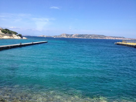 La Vecchia Fonte Hotel : La Maddalena from the port of Palau