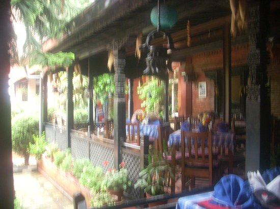 ‪‪Hotel Encounter Nepal‬: outdoor dining area‬