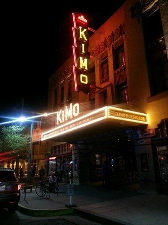 KiMo Theatre : Kimo view at night