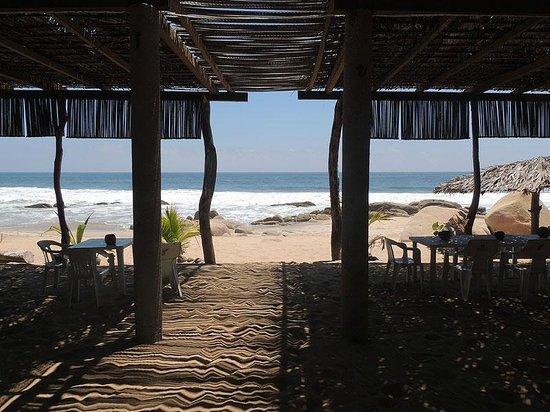 Terraza De Hamacas Picture Of Playa Ventura Guerrero