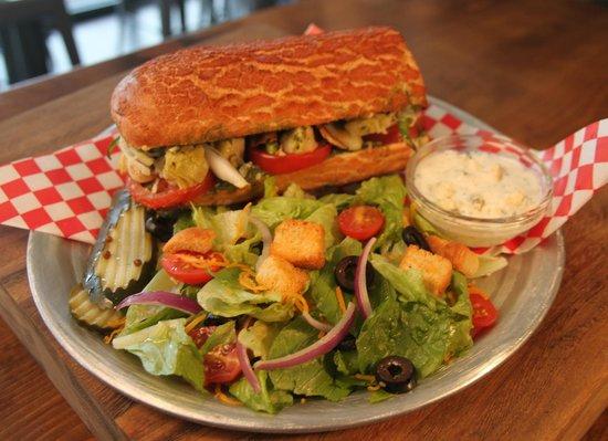 Blue Dog Gourmet Pizza: Yummy Sandwich