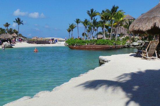 Riviera Maya, Mexico: Playa del parque