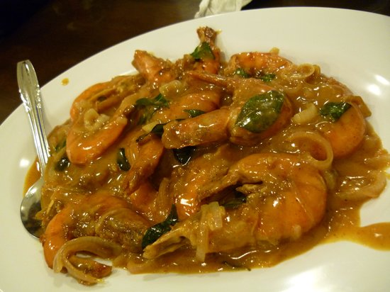 Coffee Time Corner: Mongolian Prawns