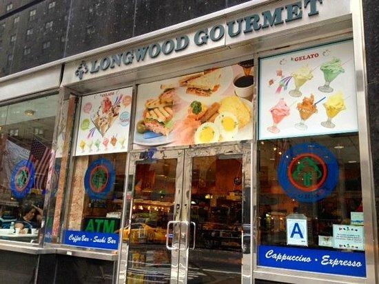 Longwood Gourmet: Front entrance