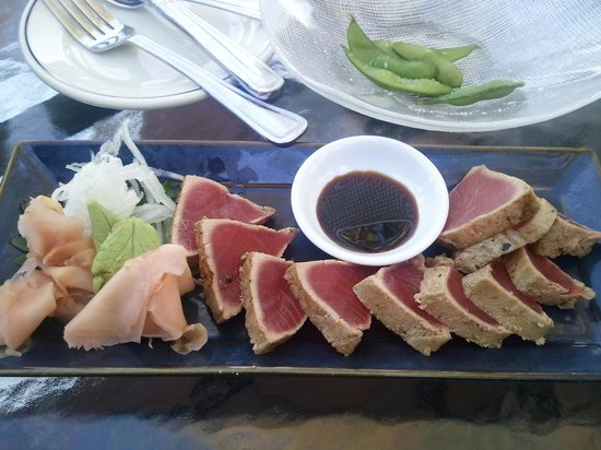 Chandler's Crabhouse: Seared tuna