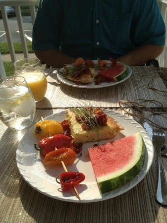 Saltwater Inn: Gourmet breakfast #1