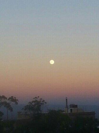 Mile High Grill & Inn: full moon in Jerome