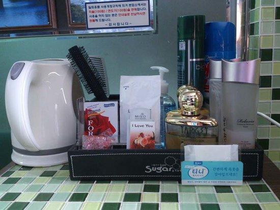 Sugar Hotel: amenities