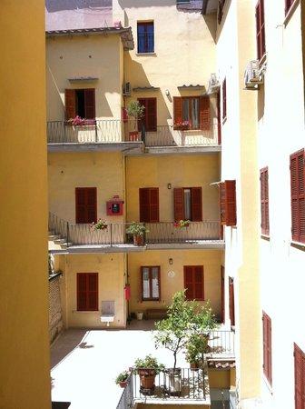 Casa Il Rosario: courtyard