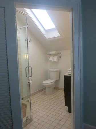Cypress House Hotel : Key West: Clean bathrooms with a skylight (top floor room)