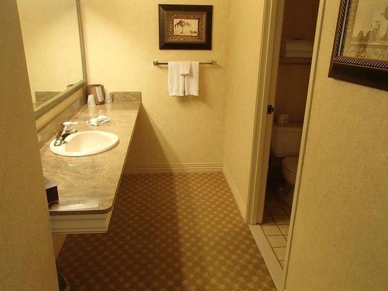 Sunset Station Hotel and Casino: Bathroom