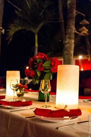 Jibe's Beach Club : romantic dinner