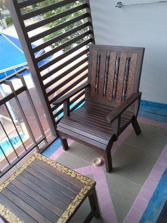 Chayadol Boutique Resort: Balcony