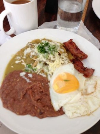 Alma Cafe : chilaquiles