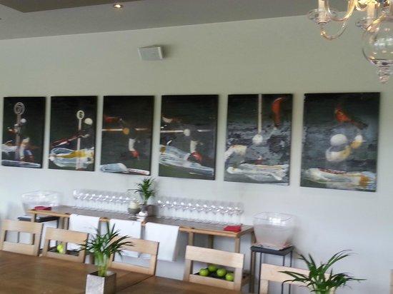 Auberge Basque : detalle del restaurante